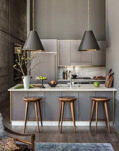device ideas kitchen minimalist living dining bar barstool bright wooden pendant lamp