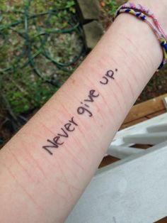 Hi, my name is Monica, I'm 15 year old and I've been self harming since I was 11, this is my arm. I'm trying to stop now and I just want to let you all know that if you ever need help, advice, or someone to talk to that understands what you're going through, I'm here! Don't ever hesitate to send me a pin or comment on a pin to ask for my kik... I love you all :*
