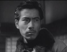 26 year old Toshiro Mifune in Snow Trail.