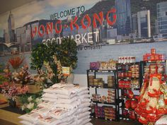 Hong Kong Market offers an array of Vietnamese, Japanese and Chinese foods and more.