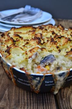 Mash topped pie by Tinned Tomatoes.com
