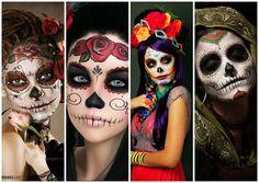 """7 impresionantes fotos de las hermosas """" Catrinas """" mexicanas y un vídeo tutorial"""