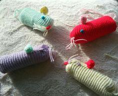 """Doudou collection """"les grosses souris"""" - jouet pour chat : Animaux par nellykreations"""