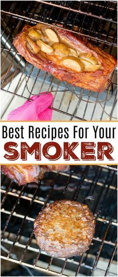 - Here are some easy smoker recipes we've made that have come out amazing! From be… Here are some easy smoker recipes we've made that have come out amazing! From beef to chicken and pork with a side of vegetables you'll fall in love. Traeger Recipes, Smoked Meat Recipes, Pork Recipes, Cheap Recipes, Egg Recipes, Pulled Pork Smoker Recipes, Grilled Recipes, Spinach Recipes, Meatloaf Recipes