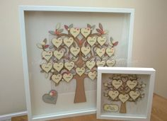 FAMILY TREE FRAME Extra large Handmade Family Tree Frame