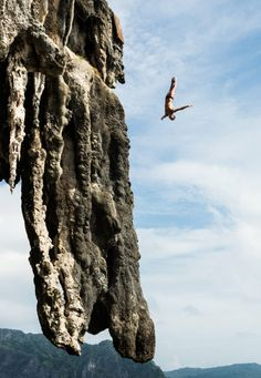 ADRENALINE. Red Bull Cliff Diving. #RedBull #Wings #NoLimits