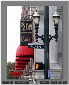 Downtown Houston - Main Street and Congress - Hotel Icon
