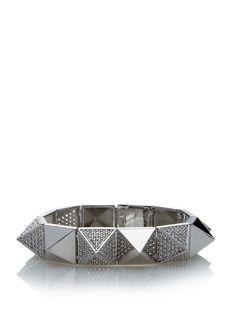 nOir Jewelry - pyramid bangle