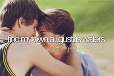 Find my Augustus - bucket list