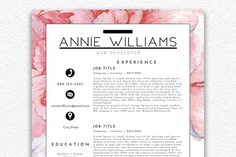 Resume Template/Business Card.