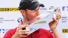 PGA Championship: England's Chris Wood wins title at Wentworth - BBC Sport