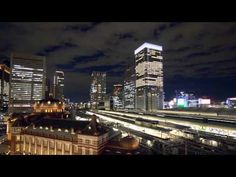 Tokyo Station and Trains