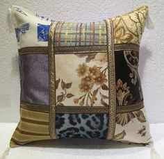 patchwork pillow cushion cover home decor modern decoration sofa throw mod 40 #Handmade #ArtDecoStyle