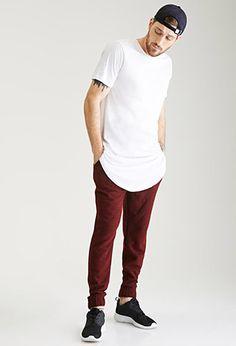 Textured Two-Tone Sweatpants | 21 MEN - 2002246862