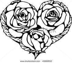 Stained Glass Tattoo Line Art - Tattoo Ideas