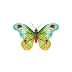 Tattly™ Designy Temporary Tattoos — Butterfly 1