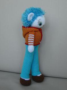 Max - Crocheted Amigurumi Doll, via Flickr.