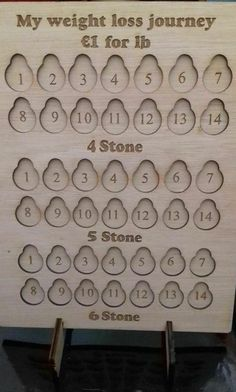 Weight loss chart on stand Put euro coin for each lb lost dieting 4 - 6 stone Glitter Tattoo Set, Weight Loss Chart, Weight Watchers Diet, Euro Coins, Fundraising, Lost, Stone, Wales, Charts