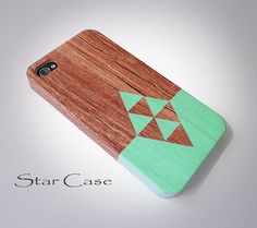 iPhone 5 Case, iPhone 4 Case, iPhone 5 Case, Wood Print iPhone 5s Case Tribal iPhone 5 Hard Case iPhone 4s Aztec Pretty Cute Wooden iPhone on Etsy, £12.48