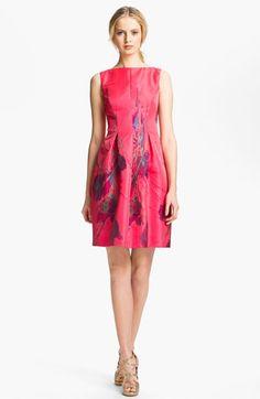 Lela Rose Boatneck Dress | Nordstrom