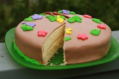 Chocolate marshmallow fondant recipe and cake decor tut