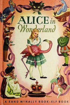 Rand McNally Elf Book - Alice in Wonderland