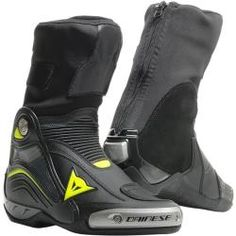 rot D1 Dyno Dainese Sport racing Motorrad Schuhe schwarz