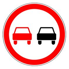 An overview of the prohibitory signs of Russia. Learn all traffic signs with the free practice questions. All Traffic Signs, Russia, Kindergarten, Learning, Symbols, Decorations, Icons, Deko, Embellishments
