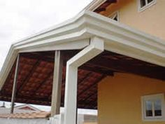 Calhas galvanizadas Gazebo, Pergola, Outdoor Structures, Outdoor Decor, Home Decor, Galvanized Trough, Small Kitchens, Rooftops, Facades