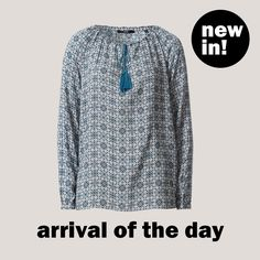 Bluse mit Ornament-Print von zero! #zerofashion #arrivaloftheday