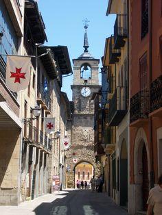 Torre del reloj, Ponferrada, León, España
