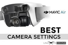 In this article, you will learn what BEST SETTINGS for your Mavic Air's camera are. Don't miss that beautiful shot because you couldn't decide on your settings. Learn from us and do your best! Best Camera For Photography, Photography Settings, Photography And Videography, Drone Photography, Photography Tips, Drones, Drone Quadcopter, Pilot, Air Drone