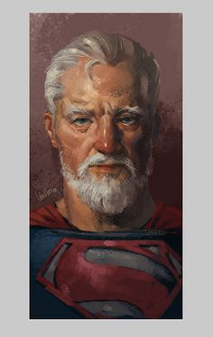 DC Fan Art Imagines Batman, Superman, Flash, and Wonder Woman as Retired Superheros — GeekTyrant Batman Y Superman, Spiderman, Superman Family, Old Superheroes, Comic Books Art, Comic Art, Clark Kent, Detective Comics, Geek Art