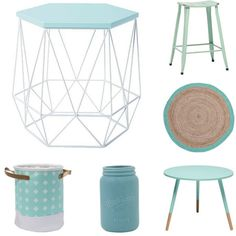 Great to see #fresh #mint looks in the new #homewares #collections from @thewarehousenz. #GettheLook with 1. Solano #Stool #Distressed Paint Mint $50. 2. Elemis #Rug Round #Jute Mint/Natural $36. 3. Living & Co #Table #Paint #Dipped Mint $35. 4. Living & Co #Vase #Mason Mint $6. 5. Living & Co Cross Hamper Round Mint Small $15. 6. #Living & Co #Hexagon Side Table Mint $25 #thewarehousenzhacks #furniture #NewZealand  #thewarehousenz #interiors #house #styling #style #home #decor #shopthetrend