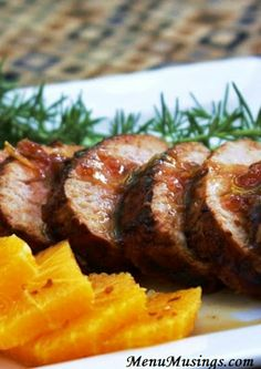 Ginger Orange Pork Tenderloin - Really delicious. Made exactly as written and wouldn't change anything the next time I make it. Make sure to reserve some of the glaze for plating-yum!