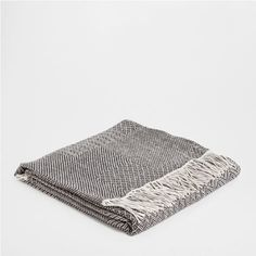 WOOL AND LINEN CHECKED BLANKET - Throws - Bedroom | Zara Home United States