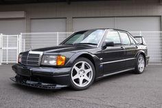 There's A Super-Rare 1991 Mercedes 190E 2.5-16V EVO II For Sale In California