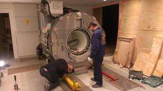 Установка на штатное место комплекса МРТ и подготовка к пусконаладочным работам.