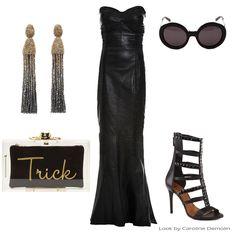 Halloween Fashion, via http://www.carolinedemolin.com.br