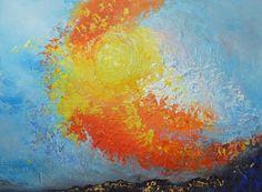 "Saatchi Art Artist: Helga Dieckmann; Acrylic 2012 Painting ""Morning Dance"""