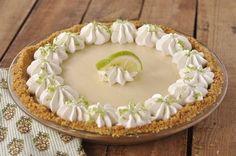 Δροσερό τσιζκέικ λεμόνι (Key Lime Pie)