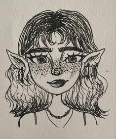 Indie Drawings, Dark Art Drawings, Art Drawings Sketches Simple, Cool Drawings, Arte Grunge, Grunge Art, Arte Indie, Indie Art, Hippie Painting