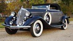 1934 Studebaker President Regal Roadster
