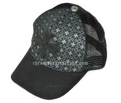 c5215822c5ce Big Leather Cross Patch Chrome Hearts Printed Trucker Cap  Big Leather  Cross  -  138.00   Eyewear