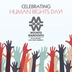 Let's celebrate #HumanRightsDay in #LovePeaceHarmony. Cause #WeAllBelong!