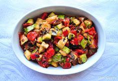 Salată rece de dovlecei cu vinete
