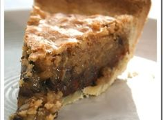 "Kentucky Dirty Bourbon Pie Read why it can't be called ""DERBY Pie"". Pie Dessert, Eat Dessert First, Dessert Recipes, Pie Recipes, Just Desserts, Delicious Desserts, Yummy Food, Unique Desserts, Yummy Treats"