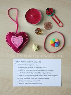What a sweet idea!! I think this would make a wonderful motivational gift for my daughters.