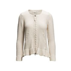 mollywood zip cardigan via Polyvore featuring tops, cardigans, zipper cardigan, shell tops, pink top, zipper top and zip cardigan