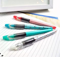 Best way to distract yourself from life... and my life I mean boring classes. http://www.coolpencilcase.com/Dashing-Style-0-28mm-Gel-Pens-p/p2159.htm